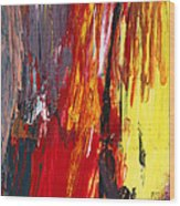 Abstract - Acrylic - Rising Power Wood Print by Mike Savad