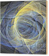 Abstract Art - Delightful Mood Of Abstracted Mind Wood Print
