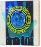 Abstract Artwork Of Fortune Telling Wood Print by Victor Habbick Visions