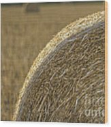 Abstract Bale Wood Print
