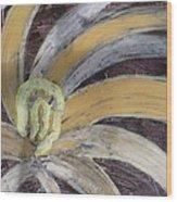 Abstract Ballerina Wood Print