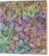 Abstract Colors Pale Wood Print