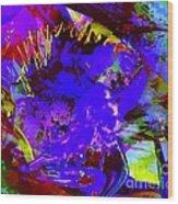 Abstract Dreams Wood Print by Doris Wood