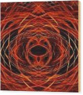 Abstract Fire Wood Print