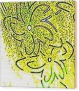 Abstract Fusion 107 Wood Print