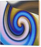 Abstract Fusion 114 Wood Print by Will Borden