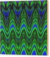 Abstract Fusion 125 Wood Print