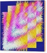 Abstract Fusion 127 Wood Print