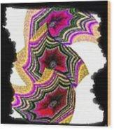 Abstract Fusion 154 Wood Print