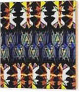 Abstract Fusion 156  Wood Print
