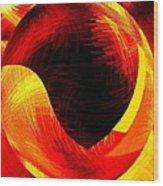 Abstract Fusion 40 Wood Print