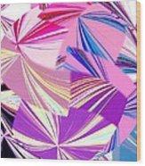 Abstract Fusion 41 Wood Print