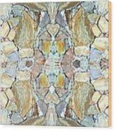 Abstract Fusion 67 Wood Print