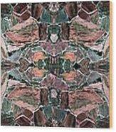 Abstract Fusion 68 Wood Print