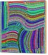 Abstract Fusion 78 Wood Print