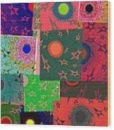 Abstract Fusion 79 Wood Print