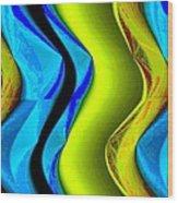 Abstract Fusion 85 Wood Print