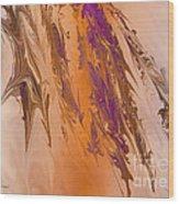 Abstract In July Wood Print by Deborah Benoit