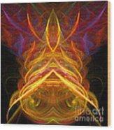 Abstract Ninety-five Wood Print