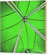 Abstract Of Green Wood Print