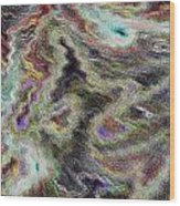 Abstract Pastel Art Wood Print