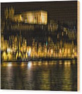 abstract Portuguese city Porto-10 Wood Print