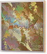 Abstract Puzzle Wood Print