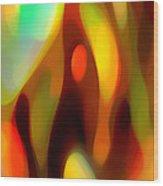 Abstract Rising Up Wood Print