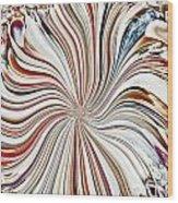 Abstract Seashells Wood Print