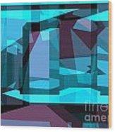 Abstract Sin 29 Wood Print