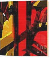 Abstract Sine L 5 Wood Print