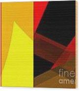 Abstract Tan 10 Wood Print