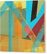 Abstract Tan 8 Wood Print
