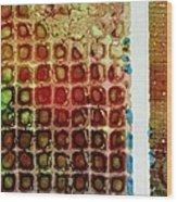Abstract Three Wood Print