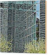 Abstract Walls Wood Print