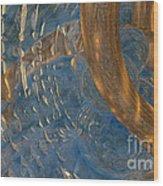 Abstract Water 5 Wood Print