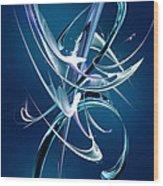 Abstract Xli Wood Print