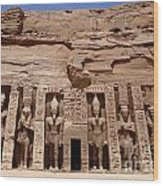 Abu Simbel Egypt 3 Wood Print