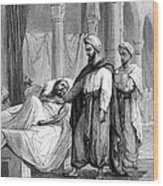 Abulcasis, Islamic Physician Wood Print by