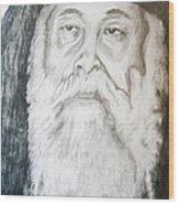 Abune Zena Markos-in Memory Of The Great Bishop Wood Print