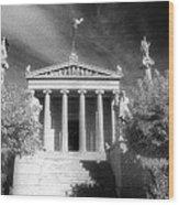 Academy Of Athens Wood Print