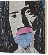 Acid Man Wood Print