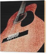 Acoustica Wood Print