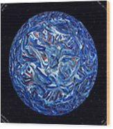Acrylic Planet In Space - 2006 Wood Print