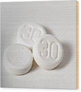 Actos, Drug For Type II Diabetes Wood Print