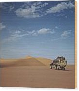 Ad Dahna Is The Red Sand Desert, Twenty Wood Print