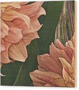 Adalee's Petals Wood Print
