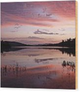 Adirondack Reflections 1 Wood Print