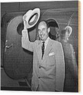 Adlai Stevenson (1900-1965) Wood Print by Granger