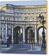 Admiralty Arch In Westminster London Wood Print
